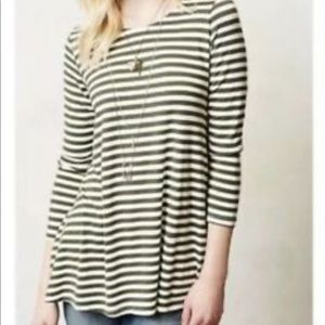 Anthropologie Puella size XS Striped Blouse